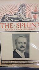 Vintage The Sphinx Issue Clayton William Rosencrance 1930