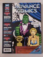 ADVANCE COMICS PREVIEW MAGAZINE #60 DECEMBER 1993 SANDMAN / PROFESSOR HULK COVER