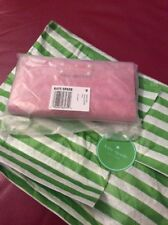 NWT Kate Spade New York Stacy Bay Street Pebbled Leather Wallet Cherry Liquor