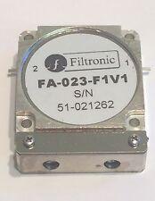 FILTRONIC HIGH POWER DROP IN ISOLATOR 2GHz  FA-023-F1V1                   fd7e25