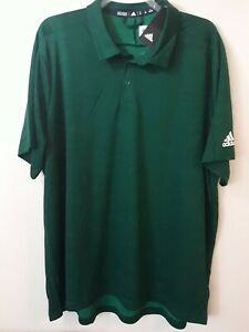 NEW Adidas Game Mode polo Golf Shirt Mens size 3XL Green