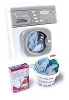 Casdon Little Helpers Hotpoint Electronic Washer Washing Machine Toy Playset