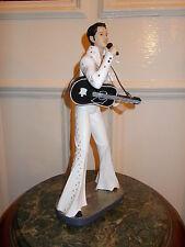 Estatuilla estatua de Elvis Presley Rock Roll Rey Guitar estatuilla de estilo vintage y retro hombre