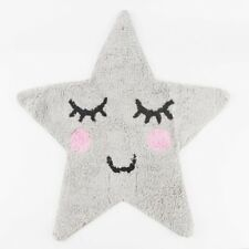 SWEET Dreams Sorridente GREY STAR Tappeto Tappetino Per Bambini Camera Da Letto Vivaio novità