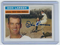 YANKEES Don Larsen signed card 2003 Topps Fan Favorites #104 AUTO Autographed