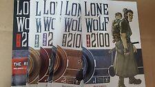 Alternative Comic lot lone wolf 2100 1 2 3 4 5 6 7 8 1-8 vf+ bagged