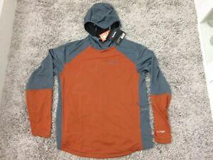 Simms Solarflex Plus Hoodie - UPF 50+ Simms Orange Medium