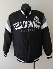 COLLINGWOOD MAGPIES FOOTBALL CLUB AFL FOOTBALL BOMBER JACKET SIZE SMALL