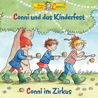 CONNI - 42: CONNI UND DAS KINDERFEST/CONNI IM ZIRKUS  CD NEU