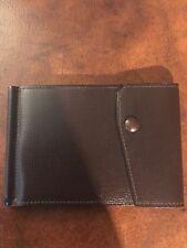 VALEXTRA Grip Spring Textured Leather Wallet - brown