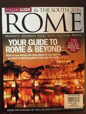 Rome Italia Guide & The South Best Places To Stay What To See 2016 FREE SHIPPING