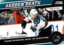 2011-12 Score Sudden Death #5 Patrick Marleau