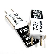 RC de radio control remoto 35 MHz 35.170 FM Cristal 35 MHz conversión simple Ch 77