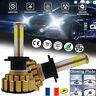 2X Super Bright LED Phare de Voiture Ampoule Headlight Kit H7 110W 26000LM 6000K