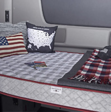 MOBILE INNERSPACE TK-3579 Truck Mattress  35 x 79 x 6.5 Gray Check with Red Trim