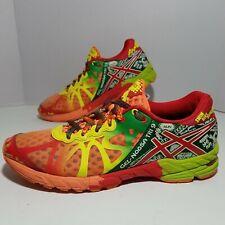 ASICS Women Size 8 5 Gel Noosa Tri 9 T458N  Triathlon Shoes Yellow Green Orange