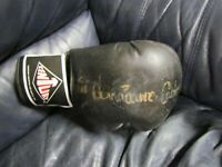 Rubin Carter Autographed BOXING GLOVE