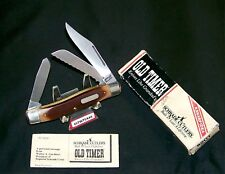 "Schrade 89OT Knife USA Old Timer ""The Blazer"" 4"" Closed W/Packaging,Papers Rare"