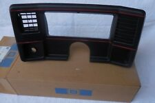 NOS 86 87 88 Monte Carlo SS El Camino DASH GAUGE BEZEL 1986 1987 1988 orig GM