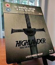HIGHLANDER - The Immortal Edition Blu-ray SteelBook