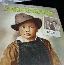 Elvis Presley Elvis Country LP Vinyl Album Record RCA LSP 4460 Good w/ sleeve