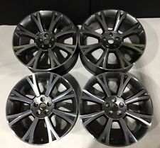 "Set Of 4 Jaguar XJ 20"" Orona Alloys Grey & Diamond Cut ideal for winter tyres"