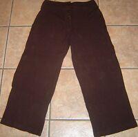 TWEEDS~BROWN DRESS PANTS~size 10P 10 Petite Short~NEW~Pair Stretch Ankle Slacks