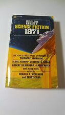 World's Best Science Fiction 1971 PB Sturgeon, Asimov, Simak,