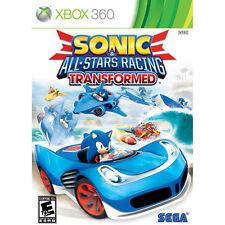 SONIC & ALL-STAR RACING TRANSFORMED BONUS EDITION X360 SPO NEW VIDEO GAME