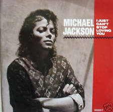 "7"" 80s! MICHAEL JACKSON : I Just Can´t Stop Loving You"