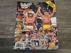HULK HOGAN/THE ULTIMATE WARRIOR WWF MAGAZINE Wrestling February 1991 Issue RARE