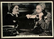 Tobacco Card, Ardath, FROM SCREEN & STAGE, 1936, XL, George Arliss, Rene Ray,#35