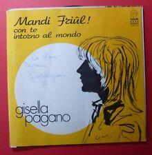 LP -G.PAGANO - MANDI FRIUL! - 1976 - EX/EX