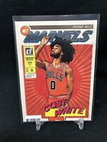 2019-20 PANINI DONRUSS COBY WHITE NET MARVELS ROOKIE CARD RC #5 INSERT SP V02