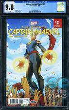 MIGHTY CAPTAIN MARVEL #1 - FIRST PRINT - CGC 9.8 - SOLD OUT - FIRST ISSUE