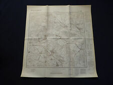 Landkarte Meßtischblatt 3960 Trebschen i.d. Neumark / Trzebiechów Züllichau 1938