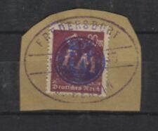 Lokalausgabe Fredersdorf F 241 auf Briefstück geprüft (B08141)