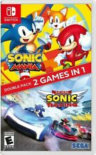 Sonic Mania + Team Sonic Racing Double Pack for Nintendo Switch [New Video Game]