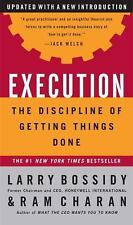 Execution Larry Bossidy Ram Charan Hardcover