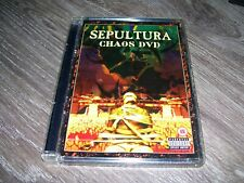 Sepeltura - Chaos *  TRASH METAL DVD HARDCASE EDITION 2002 Region 2 PAL *