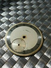 vintage used Russian USSR pocket watch dial for Molnija movement parts