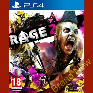 RAGE 2 PlayStation 4 PS4 Brand New & Sealed
