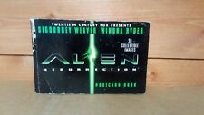 ALIEN RESURRECTION POST CARD BOOK 28/30 POST CARDS ALIENS COLLECTABLE IMAGES