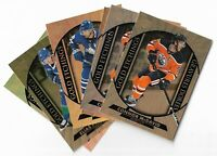 2020-21 Tim hortons hockey Gold Etching you Pick from list #1-15 Mcdavid ++
