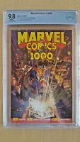Marvel Comics #1000 CBCS 9.8 Alex Ross Cover Art!