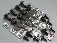 1x Set Unterfarschutz Motorschutz Reparatur Kit Clips Audi A6 C5 A6 C6