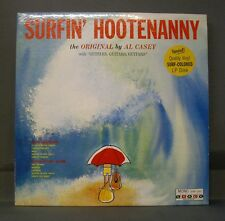 Al Casey Lee Hazelwood Surfin' Hootenanny Stacy 100 Mono Green Vinyl Orig Surf