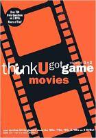 Think U Got Game Movies,Vol. 1+2 (Orange) New DVD