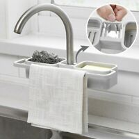 Kitchen Hanging Storage Drain Basket Sink Organizer Racks Sponge Caddy Holder