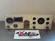 OEM 1987 blue bird speedometer cluster for a bus 183920 MILES. CREAM/OFF WHITE